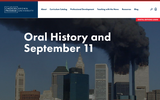 Oral History and September 11