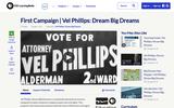 First Campaign | Vel Phillips: Dream Big Dreams