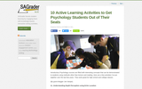 10 Active Learning Activities to Get Psychology Students Out of Their Seats