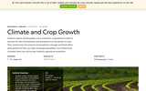 Climate and Crop Growth