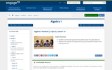 Algebra I Module 2, Topic D, Lesson 15
