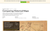 Comparing Historical Maps