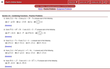 Combining Functions - Practice Problems