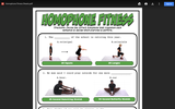 Homophone Fitness Sheets