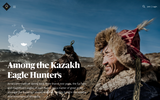 Among the Kazakh Eagle Hunters