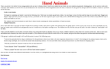 Hand Animals