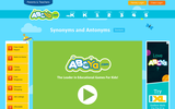 Super Word Toss Synonyms and Antonyms