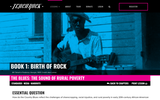 Book 1, Birth of Rock. Chapter 2, Lesson 1: The Blues: The Sound of Rural Poverty