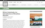 """Ritmo Embolada""  An Introduction of Brazilian Rhythm"
