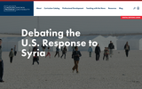 Debating the U.S. Response to Syria