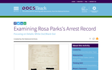 Examining Rosa Parks's Arrest Record