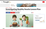 Investigating Healthy Snacks