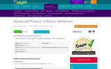Advanced Phonics: Inflection Reflection