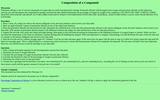 Composition of a Compound