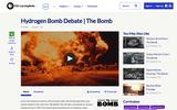 Hydrogen Bomb Debate: The Bomb