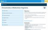 Characteristics of Multicellular Organisms