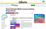 Teach Simple Math Lessons Using PPT