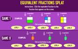 Equivalent Fraction Splat