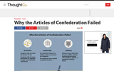 Why the Articles of Configuration Failed