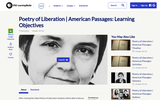 Poetry of Liberation | American Passages: Learning Objectives