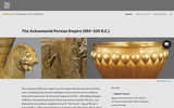The Achaemenid Persian Empire (550-330 B.C.E.)