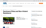 Sanctuary Cities and Non-violent Resistance