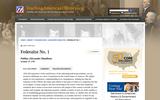 Federalist No. 1 Publius (Alexander Hamilton)