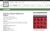 Austria: Land of Waltzes & Polkas