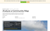 Analyze a Community Map