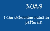 3.OA.9 Determining Rules in Number Patterns (mini-lesson)
