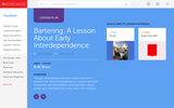 Bartering: A Lesson About Early Interdependence