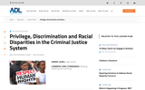 Privilege, Discrimination and Racial Disparities in the Criminal Justice System