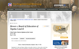 Brown v. Board of Education of Topeka I and II
