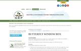 Butterfly Window Box