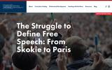 The Struggle to Define Free Speech: From Skokie to Paris