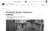 "Poem guide: Gwendolyn Brooks: ""kitchenette building"""