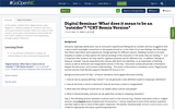 """Digital Seminar: What does it mean to be an """"outsider""""?"""