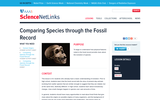 Comparing Species Through the Fossil Record
