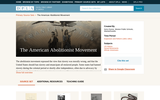 The American Abolitionist Movement