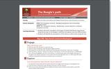 The Beagle's path