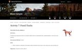 Activity 7: Fossil Tracks