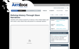 Reliving History Through Slave Narratives