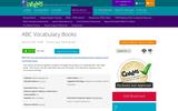 ABC Vocabulary Books