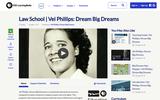 Law School | Vel Phillips: Dream Big Dreams