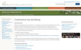 Constitution Day Workshop