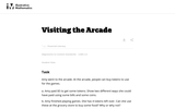 2.MD Visiting the Arcade