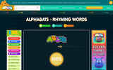Alphabats Rhyming Words Game