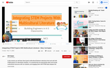 Integrating STEM Projects With Multicultural Literature by Mary Carrington