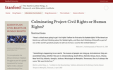 Civil Rights or Human Rights?: Culminating Project