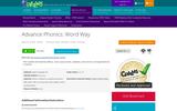 Advanced Phonics: Word Way Morpheme Structures